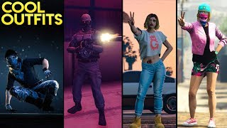 GTA Online 15+ AWESOME OUTFITS! (Terminator T-800, Seal Team 6, Max Payne & More)