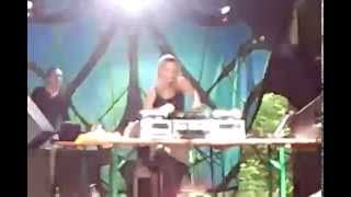 preview picture of video 'Djane Gaby @ Weltmusik Festival 2013 Pfaffing Germany TEIL 2'