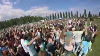 Ecole Tendance lancé de pigment idien Yverdon(holi)