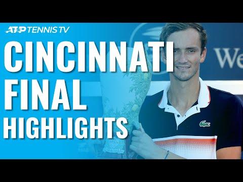 Daniil Medvedev Beats Goffin, Wins First Masters 1000 Title! | Cincinnati 2019 Final Highlights