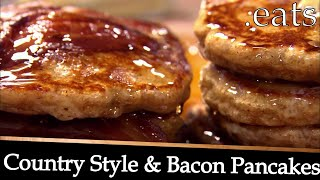 Professional Chefs Best Bacon Pancakes Recipe!