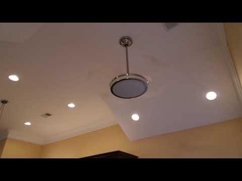 RETRACTABLE BLADE CEILING FAN FLASH FRIDAY FAVORITE