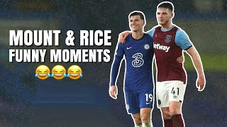 Mason Mount and Declan Rice Best / Funny Moments