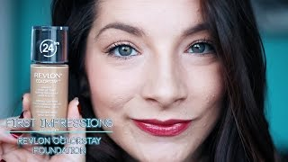 First Impressions :: Revlon Color Stay Foundation