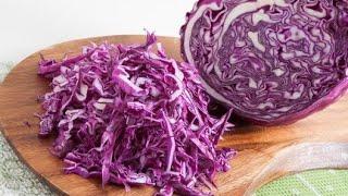 Новый Салат из Капусты – Хочется съесть весь, до чего же Вкусный! Готовить просто с  Светой.