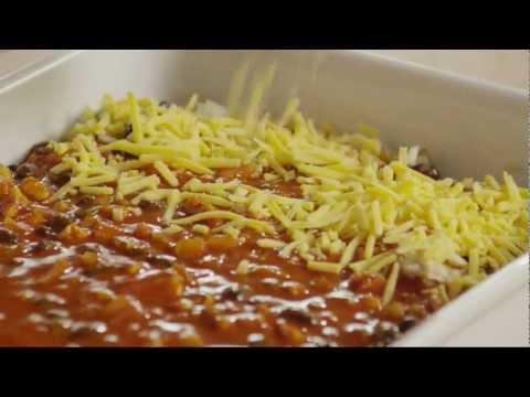How to Make Vegetarian Enchilada Casserole   Vegetarian Recipe   Allrecipes.com