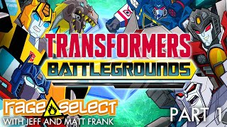 Transformers: Battlegrounds (The Dojo) Let's Play - Part 1