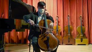 Benjamin Banks cello, Salisbury 1773