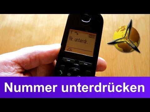 Telefon Anzeige: Nummer / Telefonnummer unterdrücken