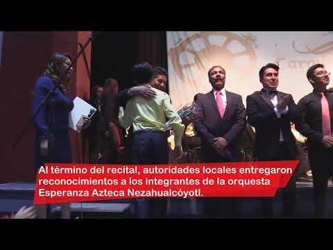 Orquesta y coro Esperanza Azteca deleitan a chimalhuacanos