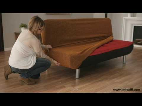 Sofabett Stretch-Hussen