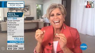 HSN | Suze Orman Financial Solutions for You Anniversary 04.04.2020 - 03 PM