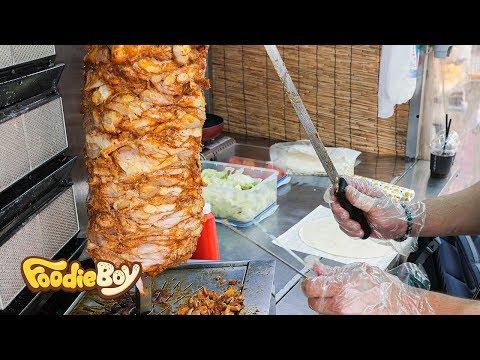 Turkish Chicken Kebab / Dongdaemun, Seoul Korea / Korean Street Food / 터키쉬 치킨 케밥 / 서울 동대문 먹거리 장터