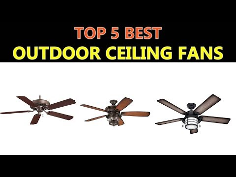 Best Outdoor Ceiling Fans 2018