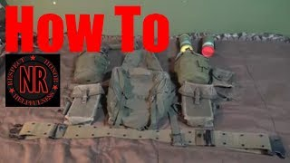 How To Properly Set Up Vietnam Web Gear