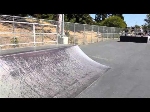 Tour of Ramsey Skatepark, Watsonville, CA
