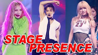 IDOLS with the Best STAGE PRESENCE [KPOP]