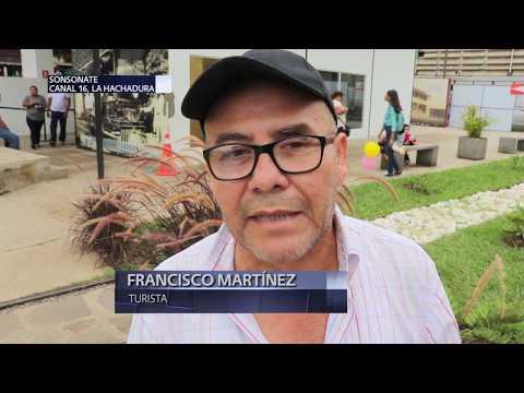Aumenta turismo en Sonsonate tras inauguración de estación ferroviaria