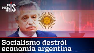 Com inflação em 50%, governo socialista deixa Argentina em ruínas