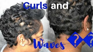 Short Relaxed Hair Curls Free Video Search Site Findclip