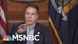 Cuomo Announces Coronavirus Deaths In New York Dropping For The First Time   MSNBC