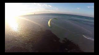 Aerial Video of Kite Surfing in Tootgarook Close Call
