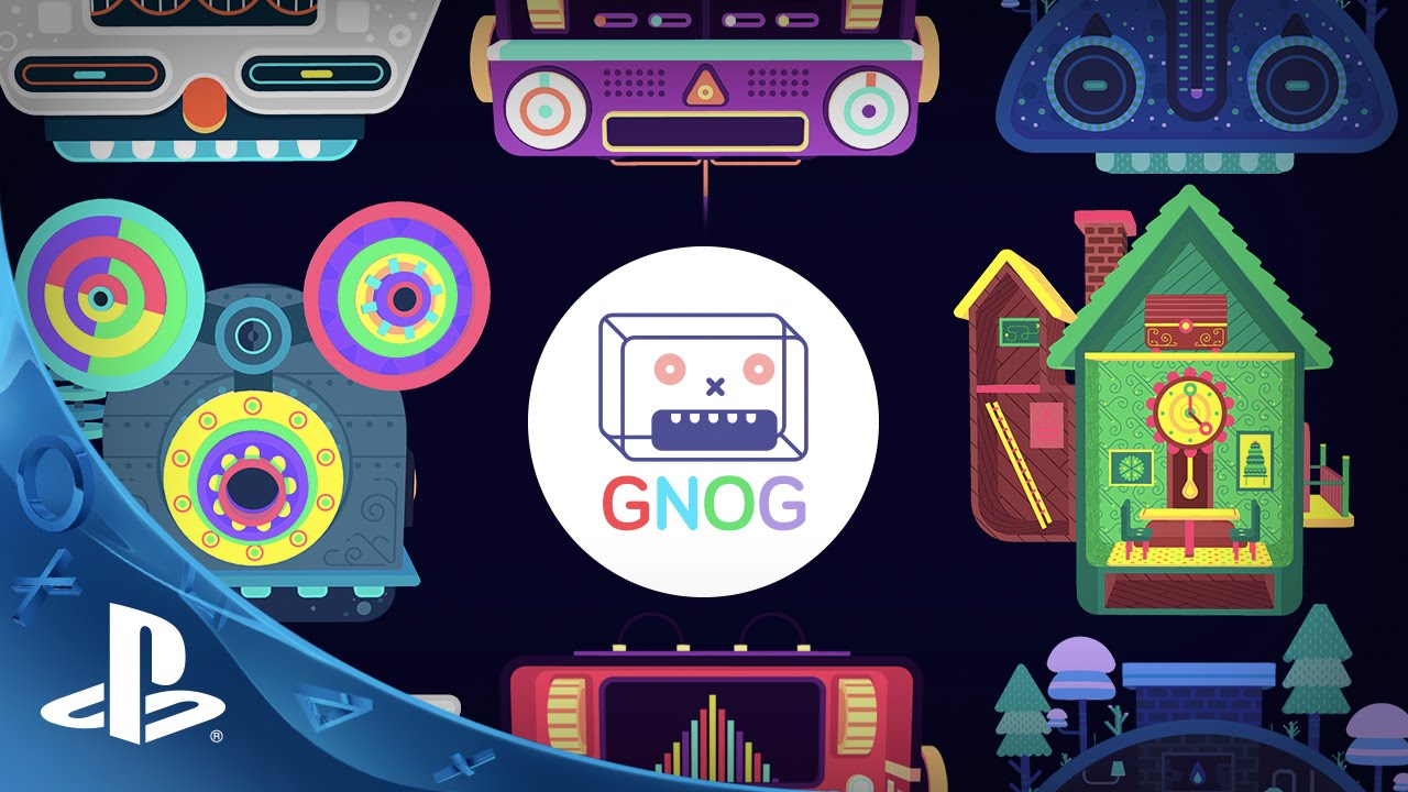 Monstrous Puzzle Game GNOG Launching on PS4 and Morpheus in 2016