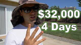 $32,000 In 4 Days (Lawn Care And Landscaping)