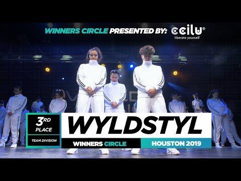 Wyldstyl | 3rd Place Team | Winner Circle | World of Dance Houston 2019 | #WODHTOWN