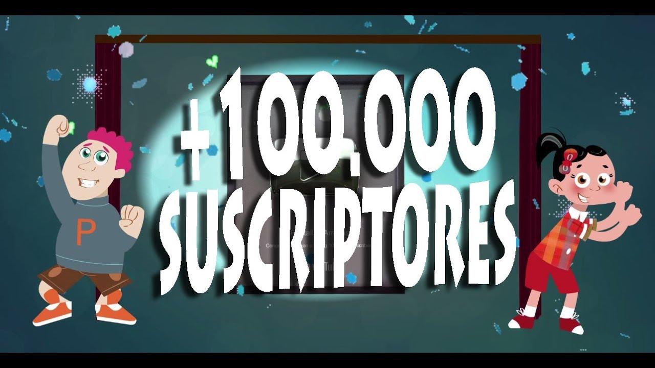 Botón de Plata! Ya somos más de 100k suscriptor@s. Gracias!
