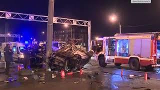 Водитель иномарки погиб в ДТП на мосту Бетанкура