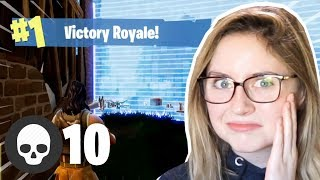 Reacting to my FIRST solo win (cringey)