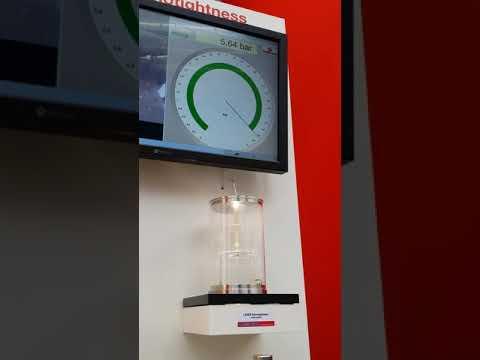 Kiểm tra so sánh số lượng bọt khí khi cài đặt van an toàn LESER theo công nghệ Nanotighness và tiêu chuẩn API527