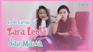 Kedekatan Anak Enda Ungu Zara Leola dan Sang Mama