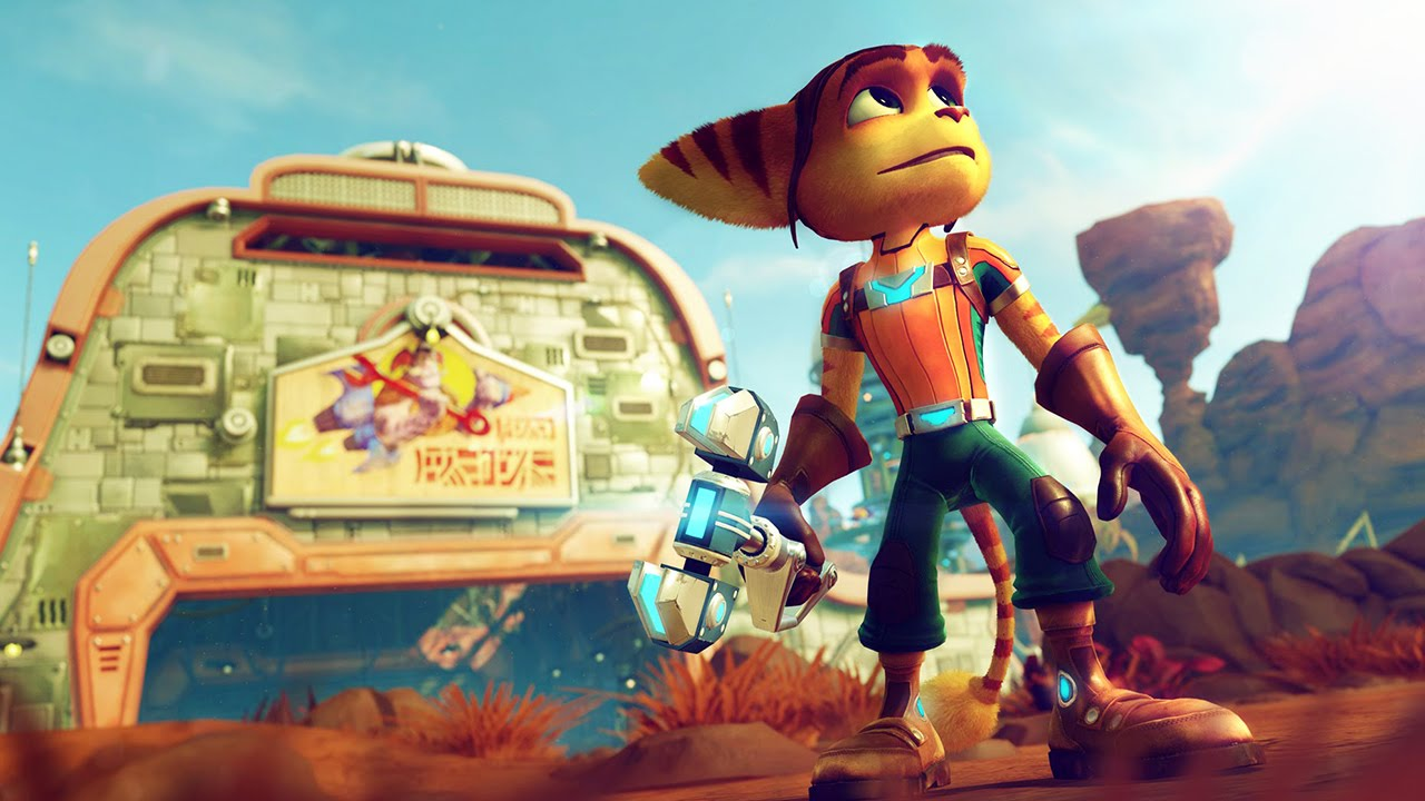 RATCHET & CLANK Gameplay [E3 2015] #VideoJuegos #Consolas