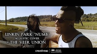 "The Veer Union salute Chester Bennington with acoustic ""Numb"" cover"