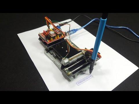 Hướng Dẫn Tự Chế Máy Vẽ CNC Mini