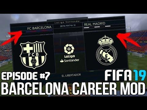FIFA 19   Карьера тренера за Барселону [#7]   ЭЛЬ-КЛАСИКО / ДИБАЛА ПОЛУЧИЛ СТРАШНУЮ ТРАВМУ?