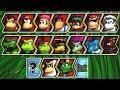 Donkey Kong Barrel Blast All Characters