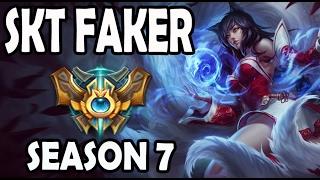 FAKER plays AHRI vs A Korean DIAMOND CASSIOPEIA