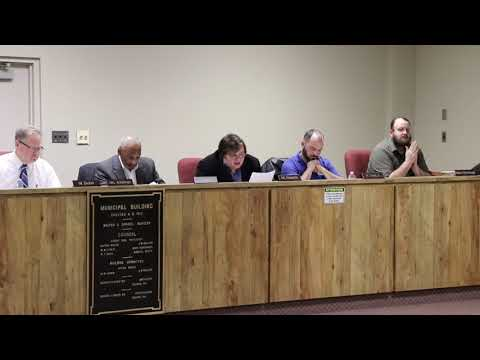 Donora Council Meeting 01-10-2019