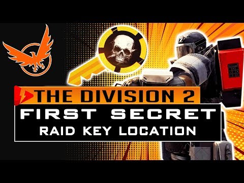Division 2 HOW TO GET the FIRST (1ST) SECRET RAID KEY - Operation Dark Hours