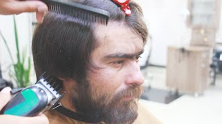 trend haircut from hairdresser, spectacular hair  transformation,watch and enjoy, hair cutting