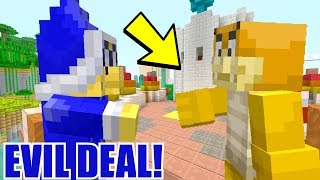 DEAL TO KILL BOWSER JR?! *OMG SCARY!* | Nintendo Fun House | Minecraft [358]