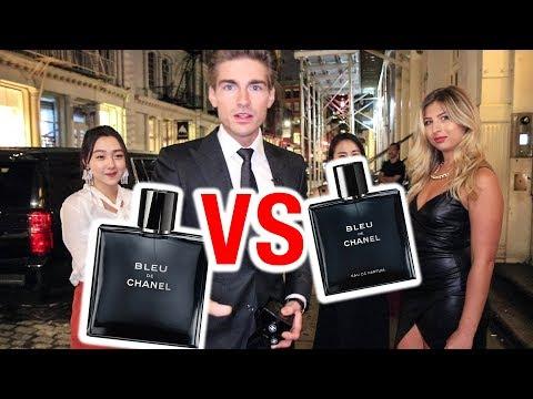 Bleu de Chanel EDT vs Bleu De Chanel EDP