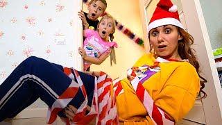 Мама РАЗОЗЛИЛАСЬ! Катя и Ростя поймали ЭЛЬФА? Письмо Деду Морозу Elf on the Shelf Christmas Vision