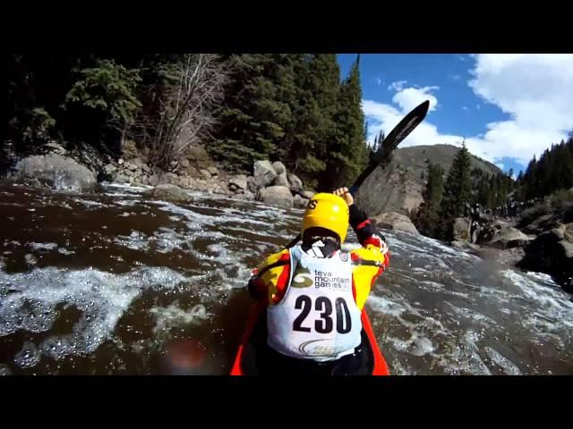 GoPro HD: Kayaking 2011 TEVA Mountain Games - Steep Creek Kayak Run