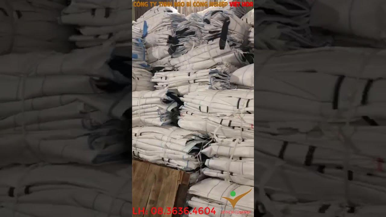 Bao Bì Việt Hoa : Bao Jumbo Tại Xưởng Sản Xuất