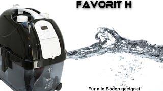 Dampfsauger FAVORIT H,  der aktuellste Dampfstaubsauger