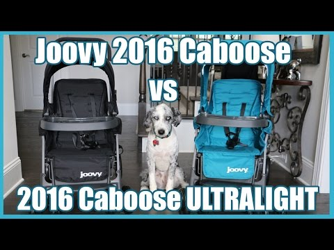 Joovy 2016 Stroller Comparison – Caboose Graphite vs Caboose Ultralight Graphite